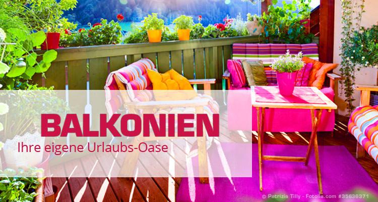 Balkonmöbel und Deko – Wohlfühlen auf kleinem Raum