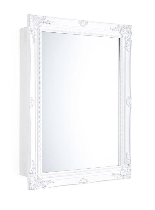 spiegelschrank schiebet r zwei innenf cher holz. Black Bedroom Furniture Sets. Home Design Ideas
