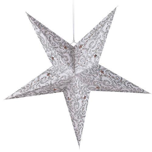 dekohaenger-stern-silber-5-zacken