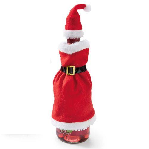 flaschendeko-weihnachtsfrau