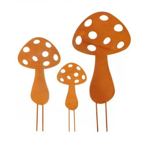 garternstecker-set-pilze-rost-3-tlg