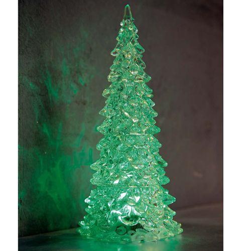 led-tannenbaum-kristall