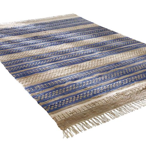 teppich-blue-stripes