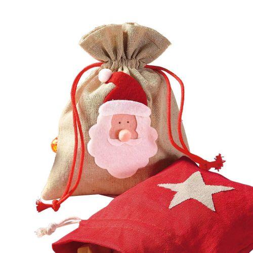 weihnachtsbeutel-santa-leinen-natur-14×18-cm