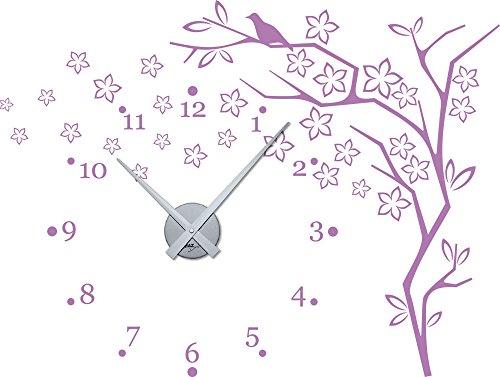 Graz Design 800355 Si 042 Wandtattoo Uhr Mit Uhrwerk Wanduhr