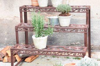 Blumentreppe – Mehr Platz für Deine Pflanzen