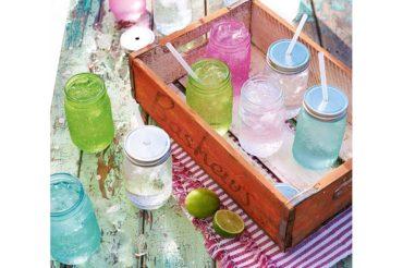 Mason Jar & mehr  – Limonade stilvoll geniessen