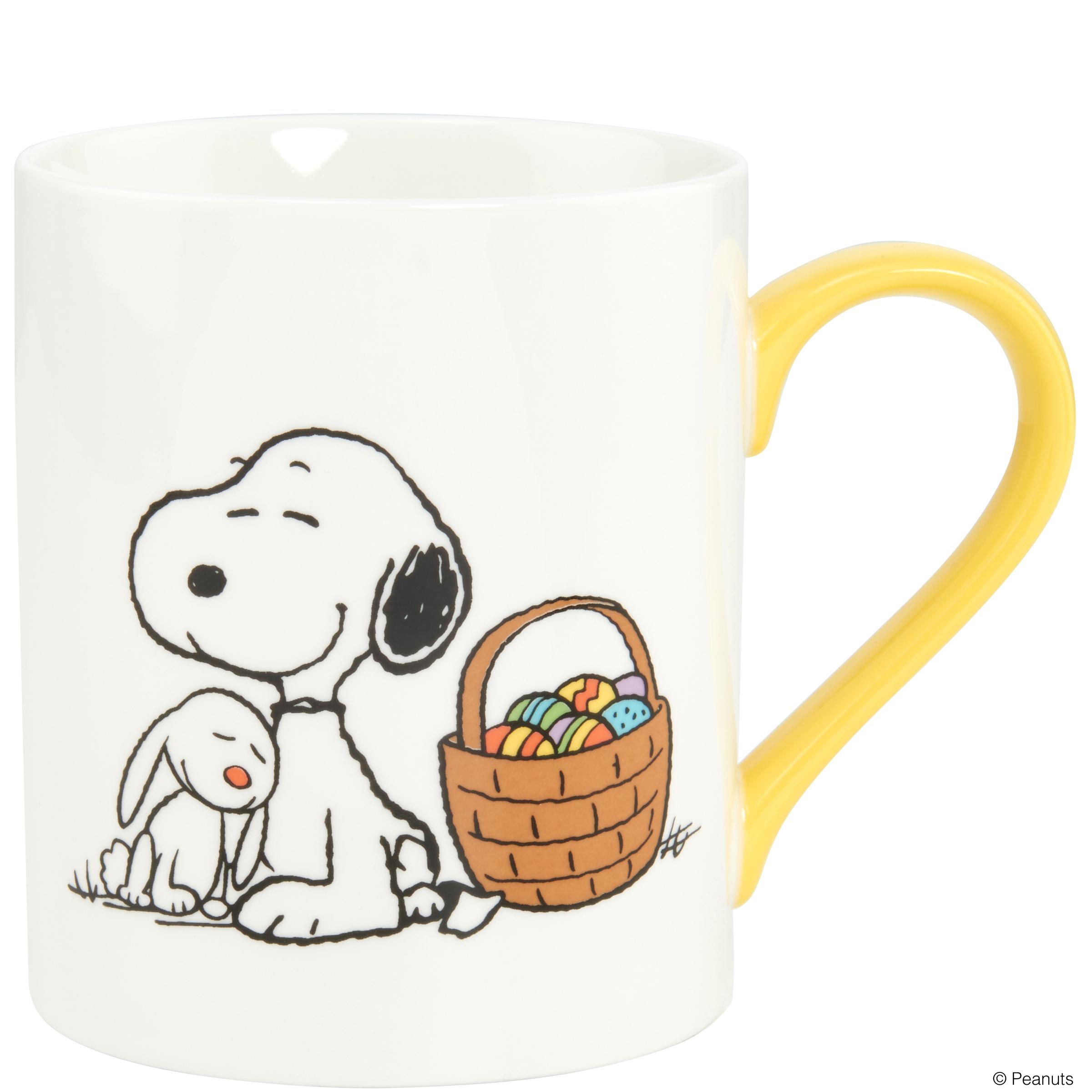 Peanuts Tasse Snoopy Und Hase Www Makeke De